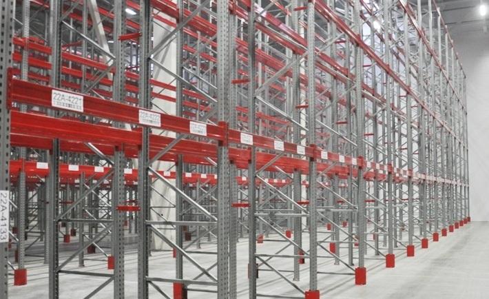 Оборудование для склада стеллажи