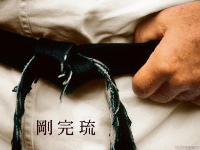 Обучение в секции дзюдо