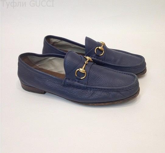 Туфли из натуральной кожи Gucci