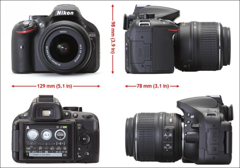 фотоапарат никон 5200